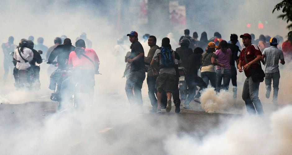 Protests over Venezuela election result