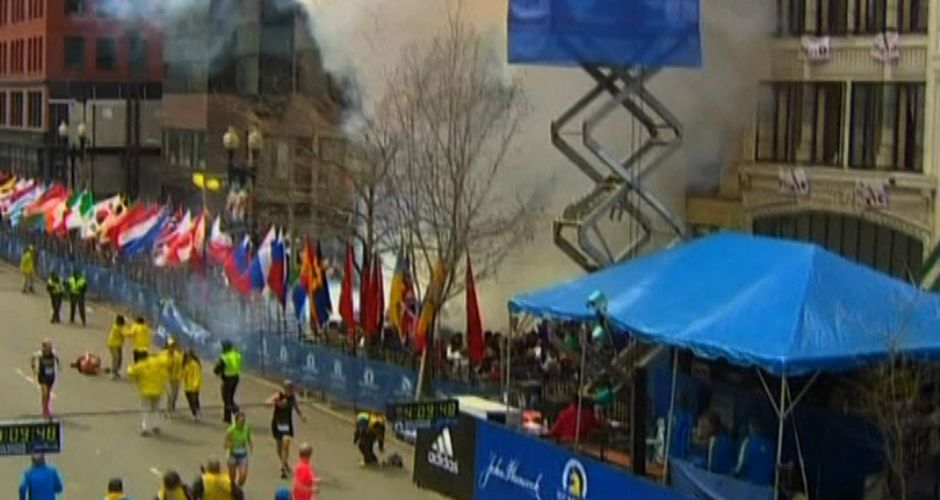 Double-bombing at Boston Marathon