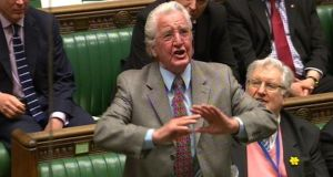 "Dennis Skinner said the argument was about class and that it was ""one rule for those at the top and another for those at the bottom. Photograph: PA Wire"