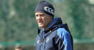 Leinster head coach Joe Schmidt.; Photograph: Donall Farmer/Inpho