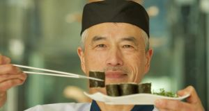Learn to make sushi with  Hisashi Kumagai, at Raw in the Radisson Blu, Galway