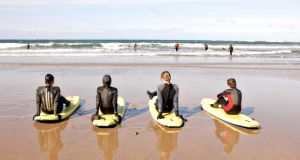 Learn to surf at Lahinch, Co Clare