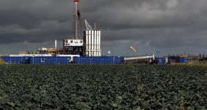 The Cuadrilla shale fracking facility in Preston, Lancashire. Minister for Energy Pat Rabbitte has said the economic impact of the shale revolution in the United States should not be underestimated when considering the controversial extraction methods of hydraulic fracturing or fracking.