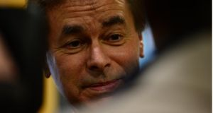 "Minister Alan Shatter: ""I am very anxious to ensure we do retain 13,000 in An Garda Síochána.""  Photograph: Bryan O'Brien"