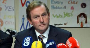 "Taoiseach Enda Kenny: ""The Government's door is, and always has been, open to unions and their representatives to make known their views.""  Photograph: Brenda Fitzsimons"