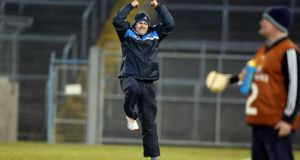 Dublin manager Anthony Daly would love to be celebrating after Sunday's NHL Division 1 semi-final against Tipperary in Thurles. Photograph: Donall Farmer/Inpho