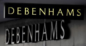 Debenhams, the UK's second-biggest department-store chain, reported that it had gained market share in the first half. Photograph: Tim Ireland/PA Wire