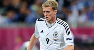 Bayer Leverkusen and Germany midfielder  Andre Schurrle . Photograph: Joern Pollex/Getty Images