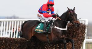 Nicky Henderson will be keeping a keen eye on the weather before committing stable star Sprinter Sacre to a run at the Punchestown Festival. Photograph: Anna Gowthorpe/PA