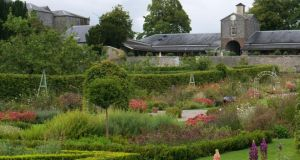 The walled garden of Castle Durrow, County Laois
