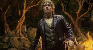 Martin Freeman in The Hobbit: An Unexpected Journey, the first Irish DVD release to carry the UltraViolet code