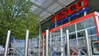 Tesco said its like-for-like sales were slightly down in the year to February 24th, while overall sales grew by 1.9 per cent to €3.15 billion. Photograph: Reuters