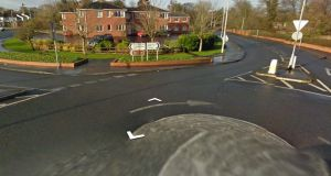 Rainey Street in Magherafelt, Co Derry where a teenager was stabbed early yesterday morning. Photograph: Google Maps