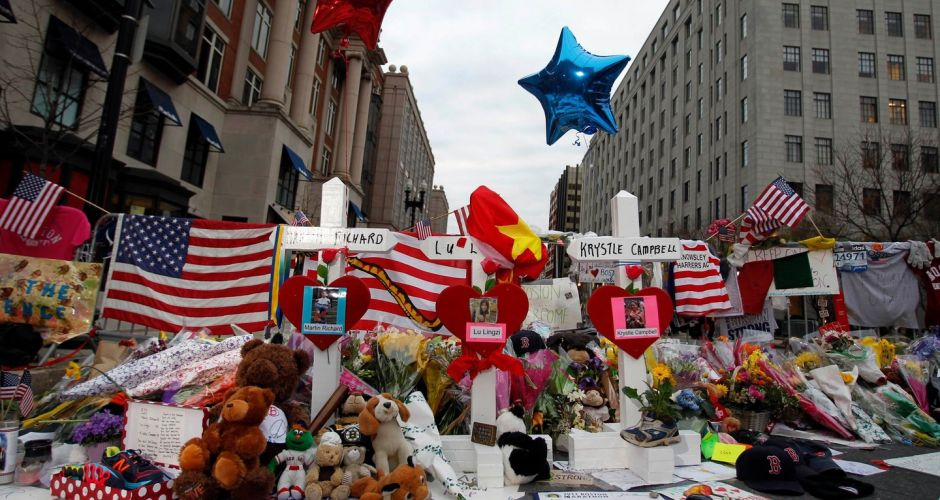 Celebrating Boston bomb suspect's capture
