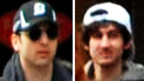 A combination of handout pictures of the suspects Tamerlan and DzhokharTsarnaev, released through the FBI website.