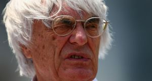 'Human rights are that the people that live in a country abide by the laws of that country':  Bernie Ecclestone. Photograph: Clive Mason/Getty Images