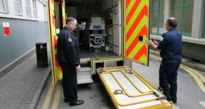 A Northern Ireland Ambulance Service spokesman said 11 response vehicles had been sent to the scene of the incident, near Lisburn. File photograph: Frank Miller/The Irish Times