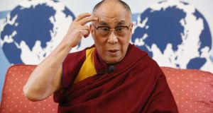 The Dalai Lama: The movement that he leads is experiencing massive stresses, and his peregrinations in Europe are just as important to him as they are for us.