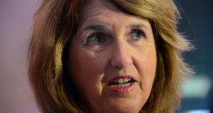"Labour Minister Joan Burton:  said at the weekend she believed that Ireland had ""reached its limits of austerity"" and that ordinary people were ""shouldering too much of the burden"". Photograph: Cyril Byrne"