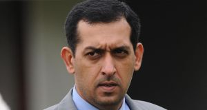 Godolphin tTrainer Mahmood Al Zarooni. Photograph: Anna Gowthorpe/PA Wire.