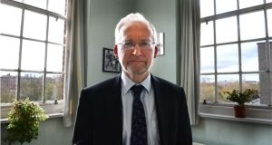 Dr Anthony McCarthy, psychiatrist at National Maternity Hospital Holles Street, Dublin. Photographer: Dara Mac Dónaill