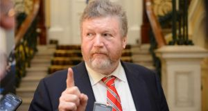 Minister for Health James Reilly: Acknowledged that there would be differences of opinion – an indication that agreement is unlikely today. Photographer: Dara Mac Donaill / THE IRISH TIMES