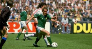 Former Republic of Ireland captain Tony Grealish died on Monday night, aged 56. Photograph: David Cannon/Allsport
