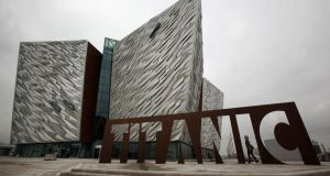 Titanic Belfast announced it has become the second most visited tourist attraction on the island. Photograph: Getty