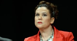 "Sinn Féin TD Mary Lou McDonald:  The Taoiseach was ""making it clear"" that Croke Park II was still on the table."