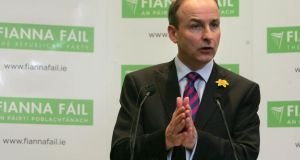 Fianna Fáil leader Michéál Martin: wondered where the report cards idea had gone