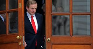 "Taoiseach Enda Kenny says he expects a ""substantial contribution'' from the pay and pensions of senior officials in the banks in weeks as part of cost-saving measures."