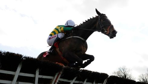 Barry Geraghty riding Jezki to win The Herald Champion Novice Hurdle at Punchestown. Photograph: Alan Crowhurst/Getty Images