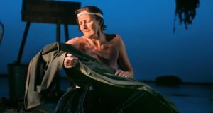 Raw power: Fiona Shaw in 'The Testament of Mary'. Photograph: Sara Krulwich/New York Times