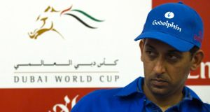 Godolphin trainer Mahmood Al Zarooni will face a BHA hearing tomorrow. Photograpgh: Caren Firouz/Reuters