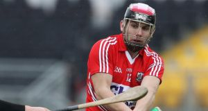 Cork's Paudie O'Sullivan has broken his leg. Photograph: Inpho