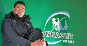 Incoming  Connacht head coach Pat Lam: will be keeping an eye on how Munster and Leinster perform. Photograph: Inpho