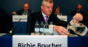 Richie Boucher of Bank of Ireland. Photograph: Aidan Crawley