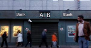 AIB said yesterday it was adding 0.4 percentage points to its standard variable mortgage rate. Photograph: Cathal McNaughton/Reuters