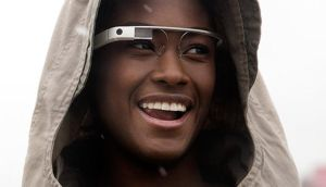 She's been framed: how Google is promoting its glasses
