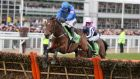 Hurricane Fly clears the last on the way to winning last month's Champion Hurdle at Cheltenham. Photograph: Inpho