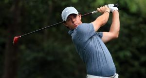 Rory McIlroy of Northern Ireland.  Photograph: David Cannon/Getty Images
