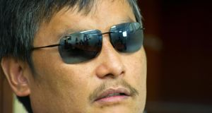 Chen Guangcheng, who last year made a daring escape from house arrest