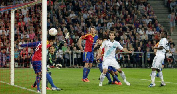 David Luiz Sneaks Chelsea Win In Basel