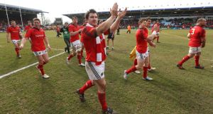 Damien Varley following Munster's quarter-final victory over Harlequins etc