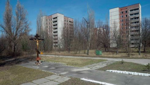 Pripyat near Chernobyl, as it looks today. Photograph: Gleb Garanich/Reuters