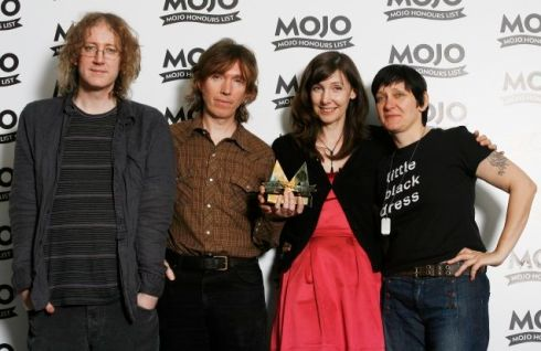 My Bloody Valentine will be Picnicking this year. Here they are winning the Classic Album award at the Mojo Honours List a few years back. Photograph: Gareth Davies/Getty Images