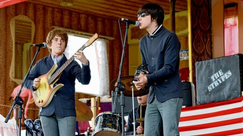 Cavan boys The Strypes playing at the preview for the 9th Electric Picnic last year. They will be back. Photograph: Cyril Byrne/The Irish Times