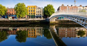 River Liffey, Dublin city