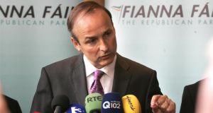 Fianna Fáil's capacity to recover will depend on its leader Micheál Martin's success in tackling inherent organisational defects. Photograph: Dara Mac Dónaill