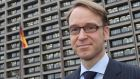 Bundesbank president Jens Weidmann says  the ECB could have compromised its political independence with its policy of buying up debt of dubious quality from euro crisis countries. Photograph: Alex Domanski/Reuters